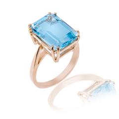 7 carat blue topaz ring deposit 50%
