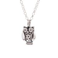 Chubby Owl Pendant