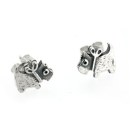 Scottie Dog Studs