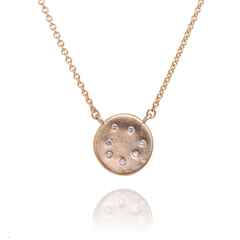 7 Diamond Cosmos Pendant