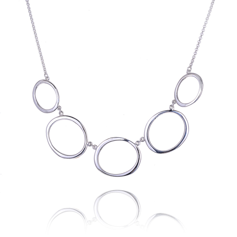 Large Ellipse Necklace