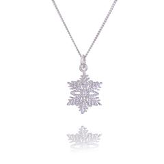 Small Snowflake pendant