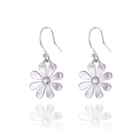 Large Daisy Drop Earrings