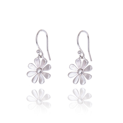 Daisy drop earrings 10mm