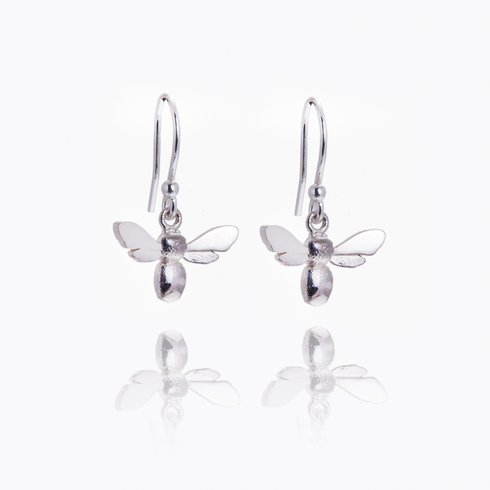 Honey Bee Medium Drop Earring