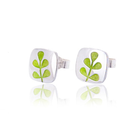 Elf green stem studs