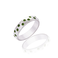 Spotty Green Ring