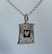 Domino Heart Pendant