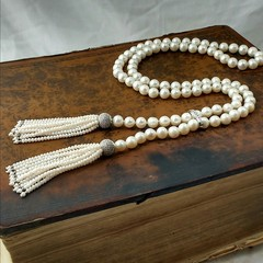 AAA grade natural freshwater pearl necklace
