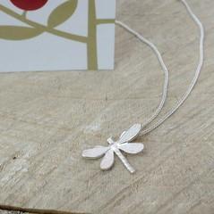 Little dragonfly pendant