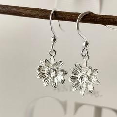 NEW Sunflower drop earrings